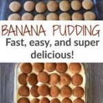 Fast and Delicious Banana Pudding Dessert