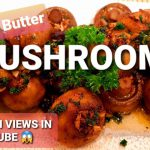 HOW TO MAKE GARLIC BUTTER MUSHROOM | EASY RECIPE | HEALTHY VEGETARIAN MEAL | COOK WITH GABBY