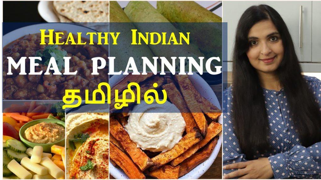 ஒரு வாரத்திற்கான  MEAL PLAN | Time Management Tips | Healthy Recipes | #weeklymealplan
