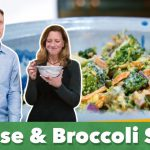 Keto Cheese and Broccoli Salad Recipe | Eric and Karen Berg