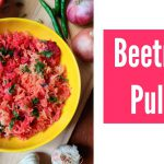 Beetroot Pulao / beetroot recipes / healthy / tasty / pulav / rice / vegetarian recipes / cooking