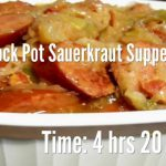 Crock Pot Sauerkraut Supper Recipe