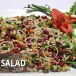 Lobia Salad Recipe | Masala Mornings | Shireen Anwar | Appetizer