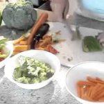 Vegetable Stir Fry   Hare Krishna Vege Recipes