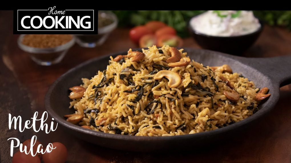 Methi Pulao | Lunchbox Recipe | Quick Recipe | Healthy Recipe