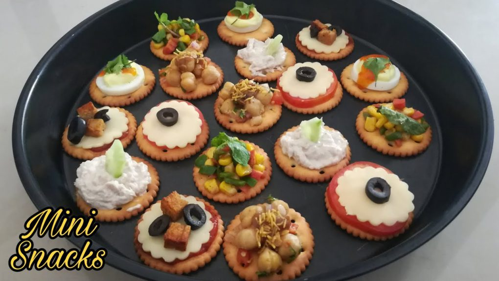 6 Best Cracker Appetizer Recipes (With Butter Puff) | Canapes – Mini Snacks For Party