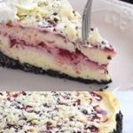 White Chocolate Raspberry Swirl Cheesecake Recipe