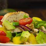TASTY AVOCADO CHICKEN SALAD RECIPE tasty salad!