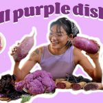 Purple vegetables make tasty meals