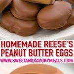 Homemade Peanut Butter Eggs [video] – Sweet and Savory Meals