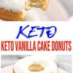 Keto Donuts! AMAZING ketogenic diet donuts – Easy simple ingredient vanilla cake…