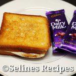 Quick Evening Snacks Recipe | Crispy&Tasty Chocolate Bread Sandwich|Lock down Recipes|Instant Snacks
