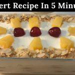 5 Minutes Dessert  Recipe Very Easy & Tasty For Iftaar ❤️