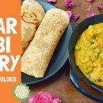 Matar Gobi Curry | Roti Chapati Poori Side dish | Vegetarian Gravy Recipe | Cauliflower Peas Recipe