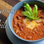 Vegetarian chili recipe in a pressure cooker  | Homemade Easy and Healthy chili recipe