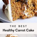 The Best Healthy Carrot Cake You'll Ever Eat (gluten free & paleo-friendly!)