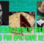UK vegan Family takeover GVG for epic cake recipe