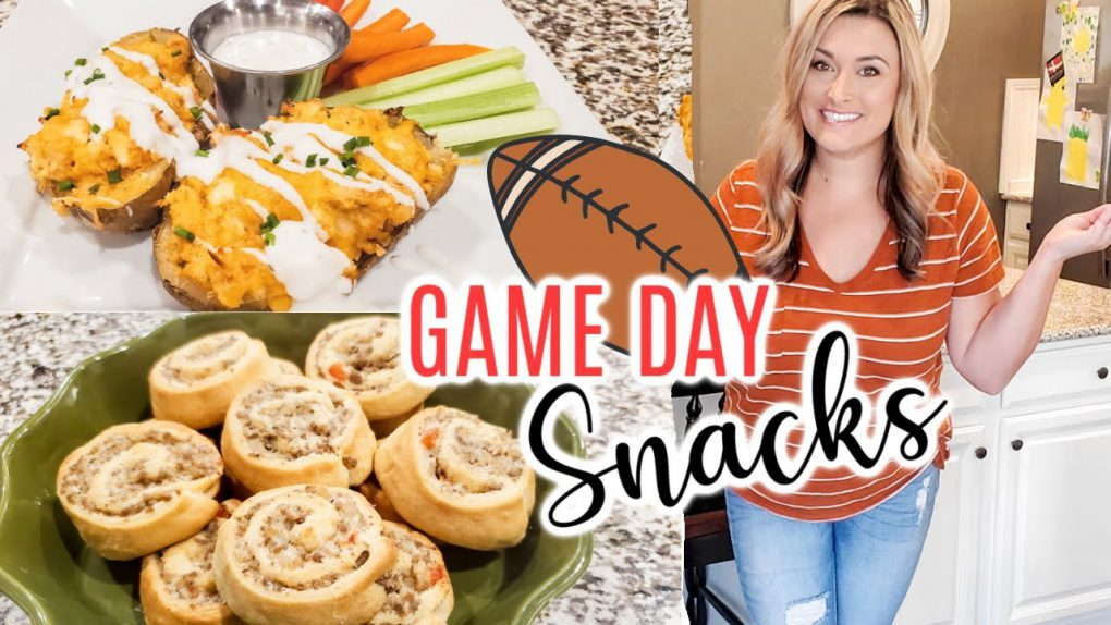 GAMEDAY RECIPES | FOOTBALL FOOD | EASY APPETIZER IDEAS | Cook Clean And Repeat
