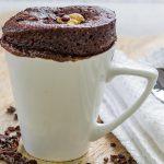 Vegan Cake In a Mug Recipe – Chocolate Peanut Butter!