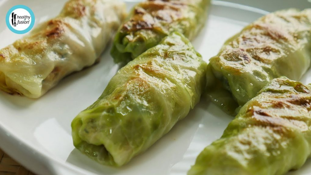 Healthy Keto Friendly Cabbage Rolls Recipe By Healthy Food Fusion