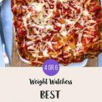WW Vegetarian Lasagna