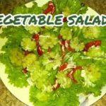 Simple vegetable salad (recipe #20)