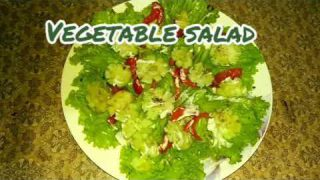 Simple vegetable salad (recipe #20)