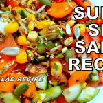 Super Seed Salad Recipe | Healthy Vegan Salad Recipe for Weightloss