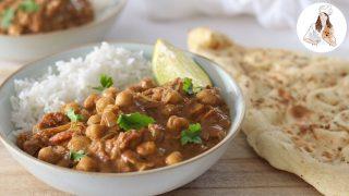 Coconut Chickpea Curry Recipe | Vegan Recipe
