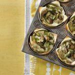 Asparagus-Mushroom Mini Lasagnas…