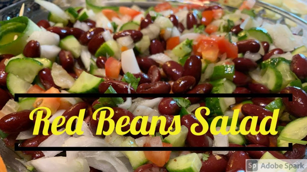 Kidney Beans Salad   Quick & Easy salad   High Protein Salad Recipe by Asma's Culinary Delights