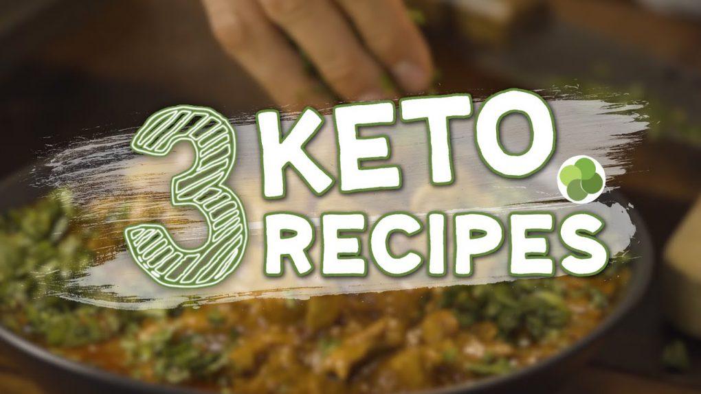 Erwan's 3 Keto Recipes