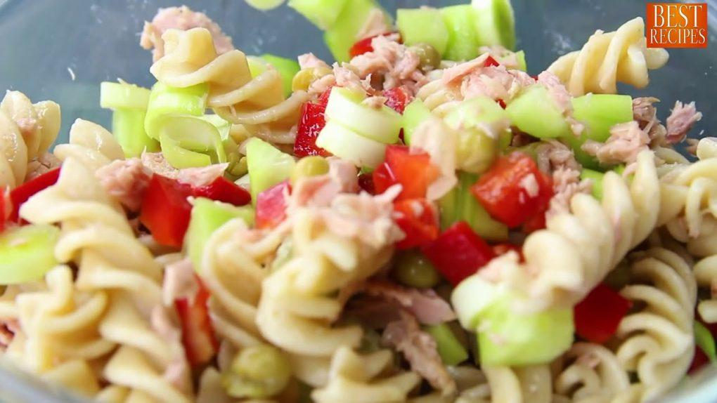 How To Make Tuna Pasta Salad Recipe Weight Loss Recipes