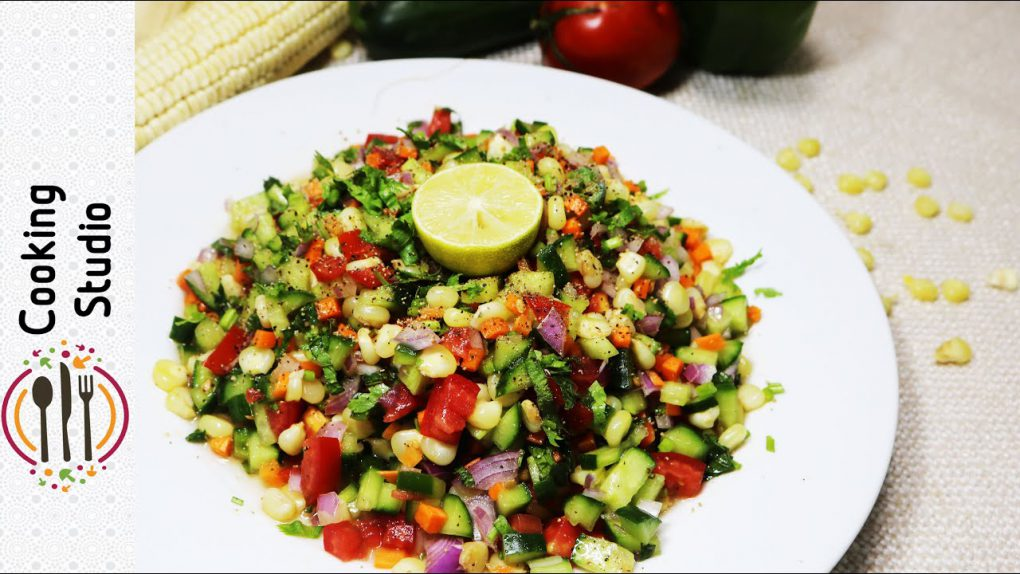 Quick & Easy Corn Salad Recipe By Cooking Studio   Super Healthy & Tasty Corn Salad   Homemade Salad