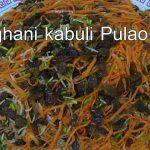 Kabuli Pulao Recipe – Delicious Afghan Food