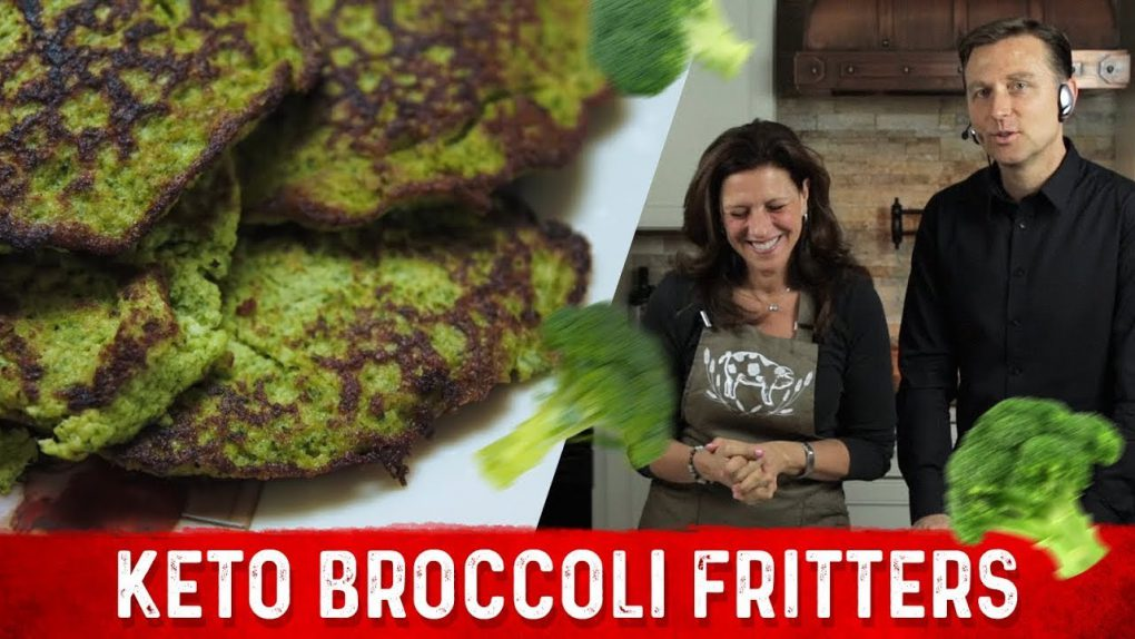 Keto Broccoli Fritters Recipe   Karen and Eric Berg