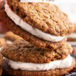 Chewy Vegan Oatmeal Cream Pies!