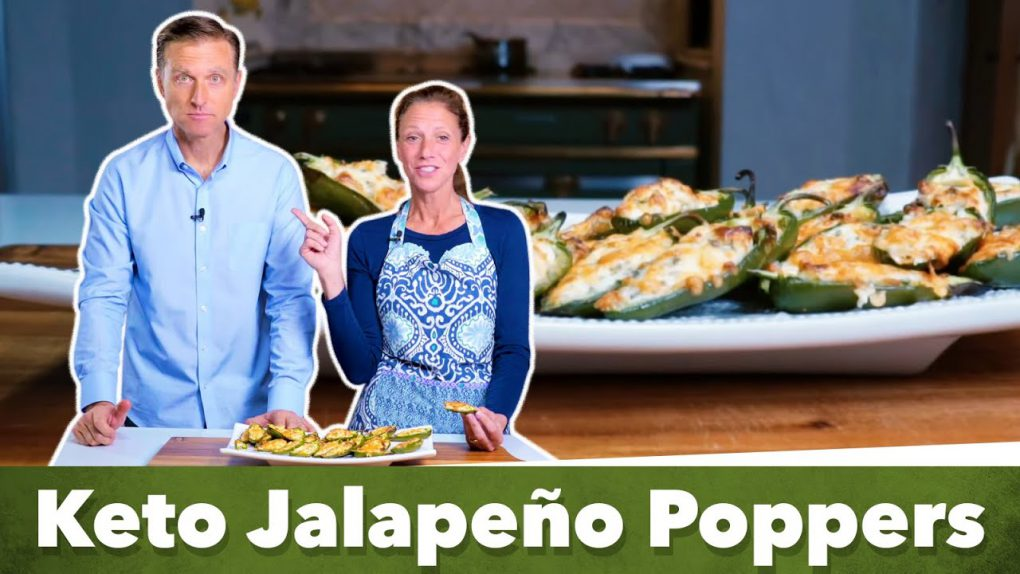 Keto Jalapeno Poppers Recipe / With Karen and Eric Berg
