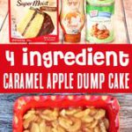 Caramel Apple Dump Cake Recipe! Just 4 Ingredients