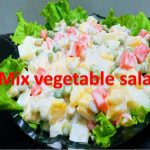 Dahi Salad Recipe Pakistani | Easy Curd Dish – Fresh Vegetable Salad  | How to Make Vegetable Salad
