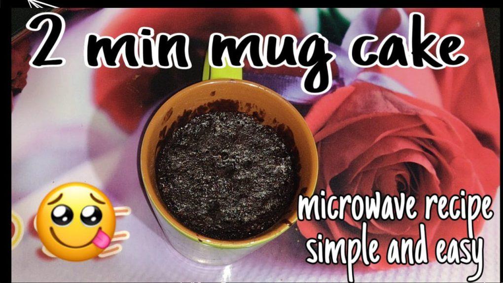 MUG CAKE RECIPE 2 Minutes Quick cake recipe  easy baked items Best lockdown recipes  Microwave dish 