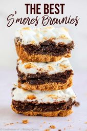 The best dessert mash up, s'mores + brownies will be your new favorite! Starting…