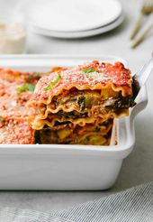 The Ultimate Vegan Lasagna… This healthy vegetable lasagna recipe is hearty, l…