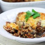 Healthy Vegetarian Moussaka…