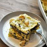 Vegan Spinach and Mushroom White Lasagna  – Rabbit and Wolves…
