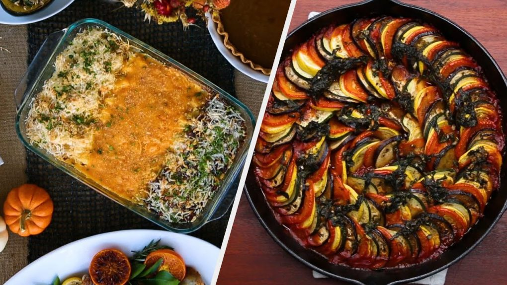 Hearty Vegetarian Recipes Fit For A Holiday Party • Tasty