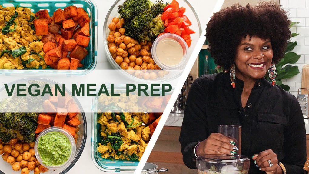 How To Meal Prep 12 Easy Vegan Recipes In 90 Minutes For A Beginner