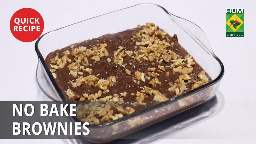 No Bake Brownies   Quick Recipes   Masala TV