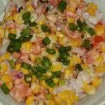 Corn salad recipe |garden corn salad recipe | fresh corn salad recipe by it's house holding