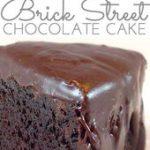 Brick Street Chocolate Cake – Through Her Looking Glass #cakecookies…